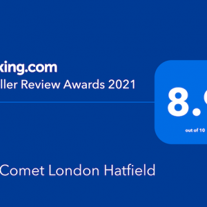 Booking.com Traveller Review Award 2021
