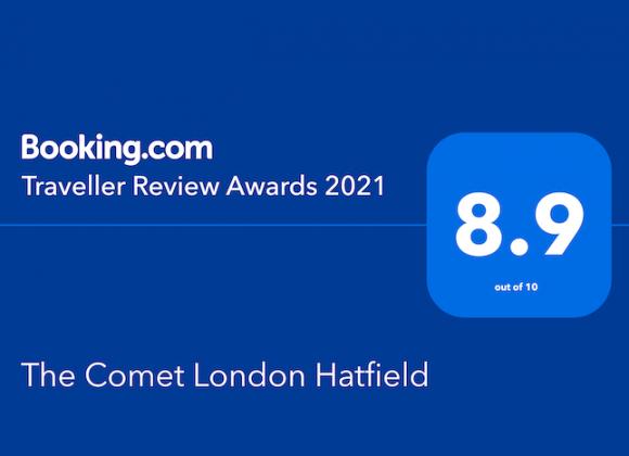 Booking.com Traveller Review Award 2021